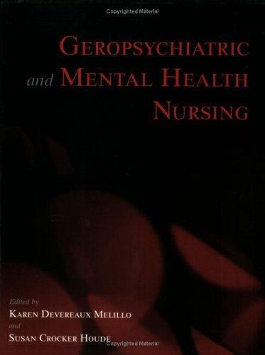 Geropsychiatric & Mental Health Nursing Pub. Price $62.95 by Co-CBS
