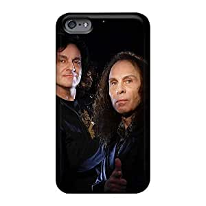 Shock Absorbent Hard Cell-phone Case For Iphone 6plus (aLH549uRLY) Customized Beautiful Black Sabbath Band Series