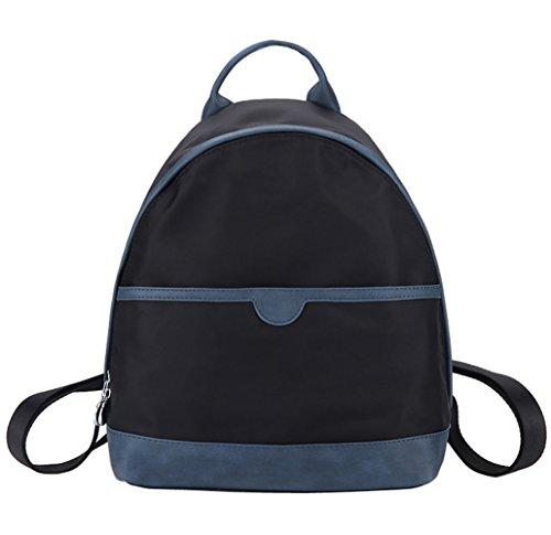 Woman Backpack, Waterproof Nylon Backpack Hopeeye Woman Bag Hand Shoulder Bag Backpacks Bag Casual Type Of Travel 2-blue