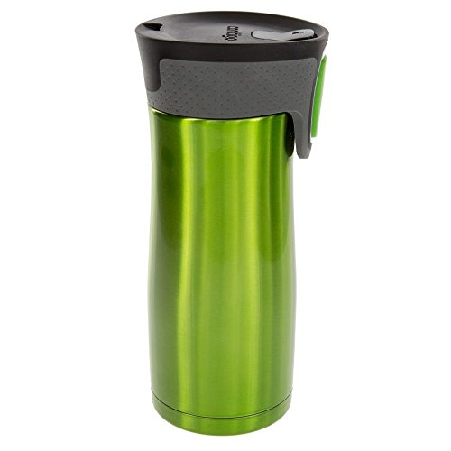 Contigo Autoseal Travel Mug - Stainless Steel Mug With Easy Clean Lid - 16 Ounce - Green