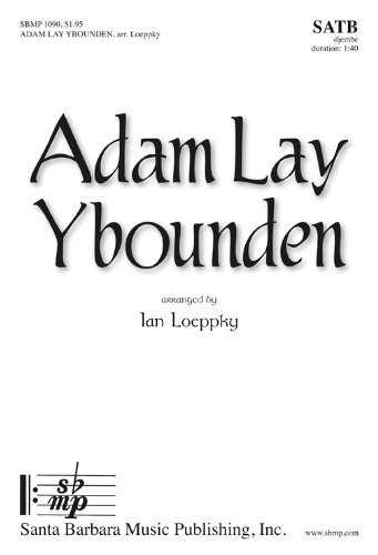 (Adam Lay Ybounden (Educational Octavo, SATB, Djembe))
