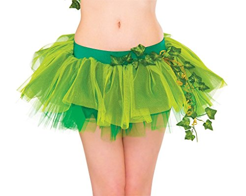 Rubie's Women's DC Comics Poison Ivy Tutu Skirt, Multi-Color, One Size