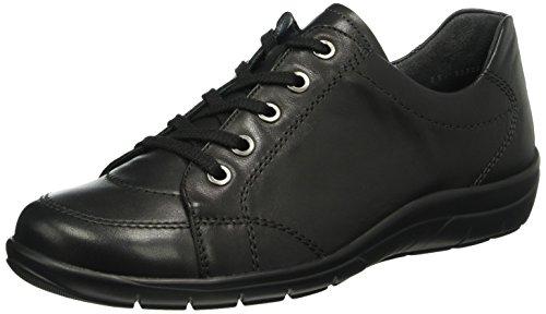001 Cordones Zapatos Brogue Semler Negro Para Michelle Schwarz De Mujer qpxp8H