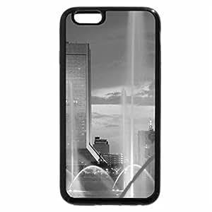 iPhone 6S Plus Case, iPhone 6 Plus Case (Black & White) - multicolored fountain and bridge in jacksonville