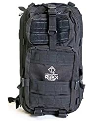 Rukx Tac 1 Day Backpack / Black