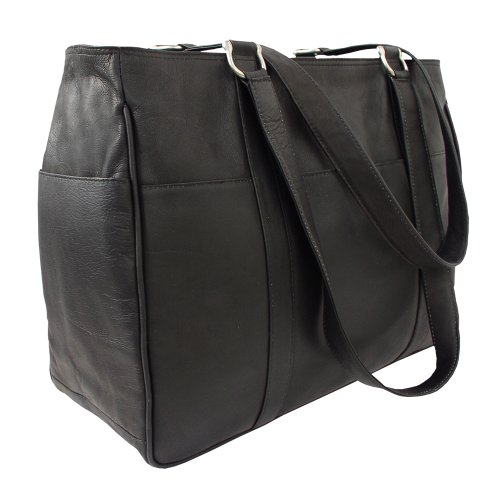 Black Medium Bag Shopping Piel One Saddle Size Leather AvPgqw0