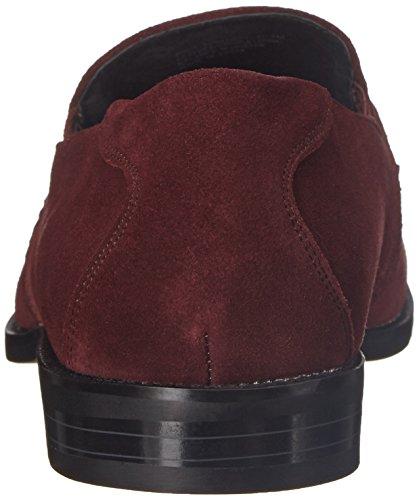 Stacy Adams Mens Gulliver Slip-on Loafer Oxblood Mocka