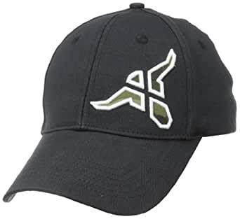 Wrangler Men's 20X Western Cap, Black/Tan, Small