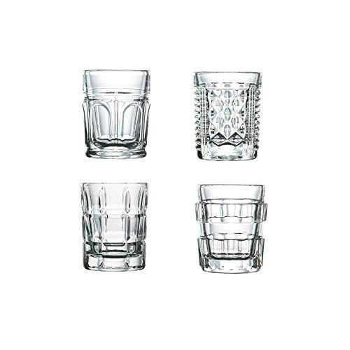 La Rochere 6400.01_496 Set of 4, 2 oz Barware, Shot Glasses, Drinkware Set One Size Clear