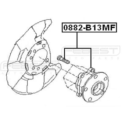 28373Fg000 - Front Wheel Hub For Subaru - Febest: Automotive