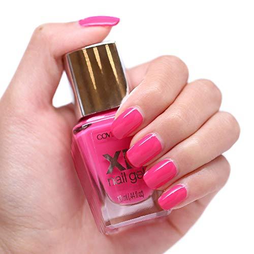 Set of 2 Covergirl XL Nail Gel Color Polish .44 Fl Oz #710 Whole Lotta Guava