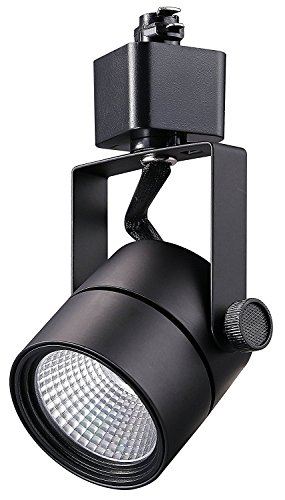 Cloudy Bay LED Track Light Head,CRI 90+ Warm White Dimmable,Adjustable Tilt Angle Track Lighting Fixture,8W 40° Angle for Accent Retail,Black Finish Halo Type by Cloudy Bay (Image #2)