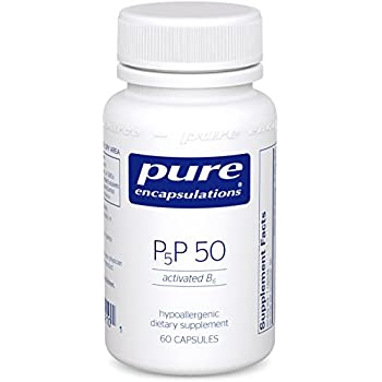 Pure Encapsulations - P5P 50 - Activated Vitamin B6 to Support Metabolism of Carbohydrates, Fats, and Proteins* - 60 Capsules