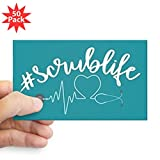 CafePress - Hashtag Scrublife - Sticker (Rectangle 50 pk)