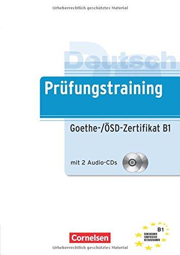 Prüfungstraining Goethe-/ÖSD-Zertifikat B1