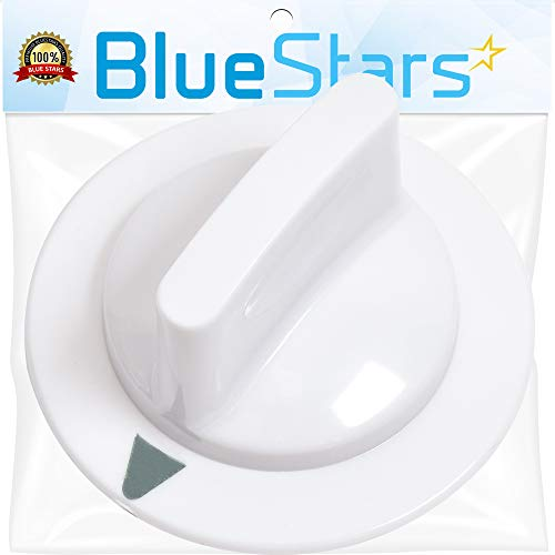 Ultra Durable WE1M652 Timer Knob Replacement Part by Blue Stars - Exact Fit for Hotpoint General Electric Dryer - Replaces 1264289 AP3995164 PS1482196 from BlueStars