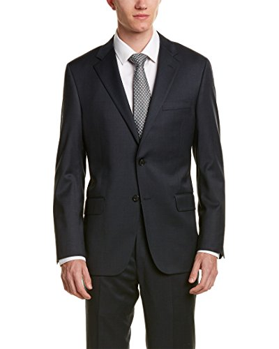 Hickey Freeman Mens 2Pc Milburn II Wool Suit, 40R, - Freeman Mens Hickey Suits