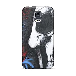 Anti-Scratch Hard Phone Cases For Samsung Galaxy S5 (Yes365fuvG) Provide Private Custom Beautiful Deftones Skull And Roses Series