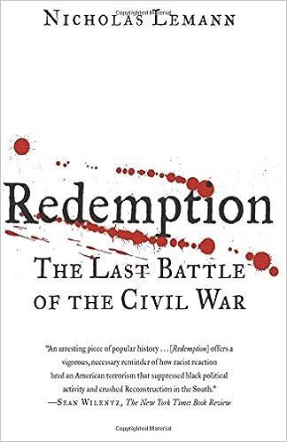 f5906f2048973 Redemption: NICHOLAS LEMANN: 9780374530693: Amazon.com: Books