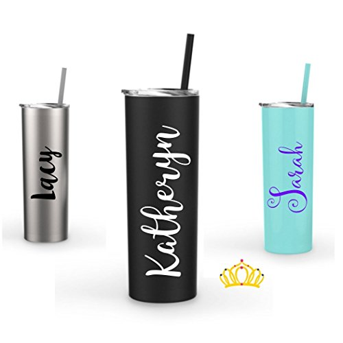 Personalized Reusable Stainless Steel 20 ounce Water Bottle