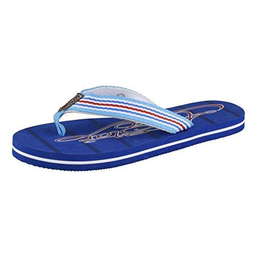 HSM Schuhmarketing - Sandalias de Material Sintético para mujer azul azul Azul