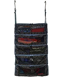 """""""The Super PACK"""" - Suitcase and Luggage Organizer (Black) by PACK Gear - Large"""