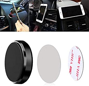 Gold 4 Pack Magnetic Car Dashboard Mount Holder for Cell Phone