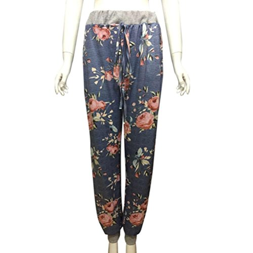Flare large Pantalon Long Haute Casual Winwintom Palazzo Longue Femmes Nouveau Bleu Noir Taille Pantalon Pantalon 0qZRAA