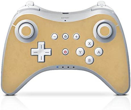Design folie compatibel met Nintendo Wii U Pro Controller Designskin Vinyl Stickers Dieren Kinder Giraf