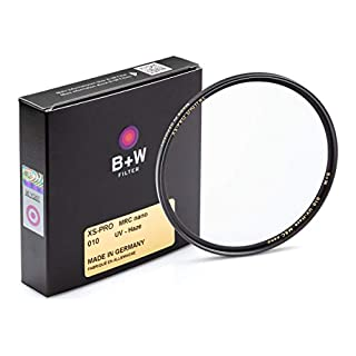 B + W 72mm UV Protection Filter (010) for Camera Lens - Xtra Slim Mount (XS-PRO), MRC Nano, 16 Layers Multi-Resistant and Nano Coating, Photography Filter, 72 mm, Clear Protector