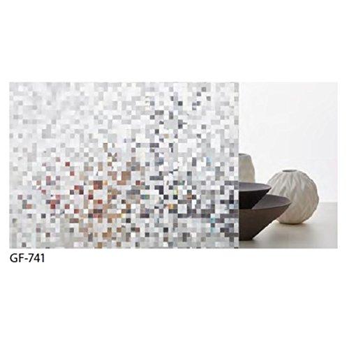 幾何柄 飛散低減ガラスフィルム サンゲツ GF-741 92cm巾 3m巻 生活用品 インテリア 雑貨 インテリア 家具 その他のインテリア 家具 14067381 [並行輸入品] B07NZCNSR3