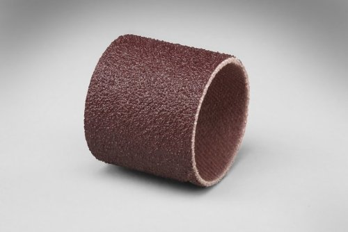 3M 341D Coated Aluminum Oxide Spiral Band - 80 Grit - 1/2 in Width - 1 in Dia - 20000 Max RPM - 97531 [PRICE is per CASE]