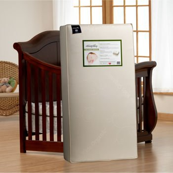 simmons organic crib mattress. simmons kids tranquil nights 2 in 1 organic crib mattress