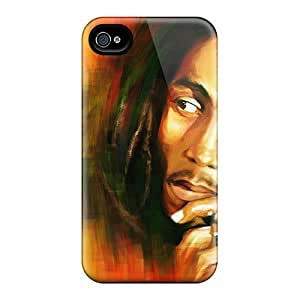 Durable Hard Phone Case For Iphone 5s With Provide Private Custom High-definition Bob Marley Pictures JamieBratt