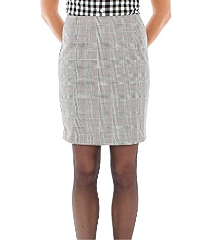 Womens Prince Of Wales Checked Fitted Skirt for 60S, Mod, Ska style.. Choice of sizes available.