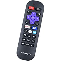 Replacement Remote Control Controller For Sharp 720p/1080p Roku Smart LED TV LC-43LB371U LC-50LB371U LC-43LB371C LC-50LB371C