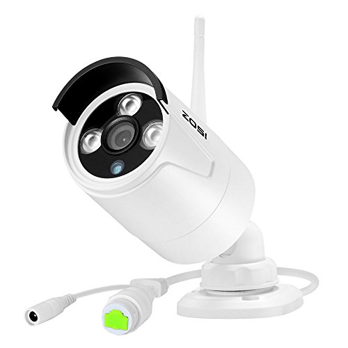 ZOSI 960P HD 1.3MP Wireless IP Network Camera Weatherproof Outdoor Indoor security camera with 100ft (30m) IR Night Vision