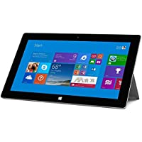2018 Microsoft Surface 2 Tablet 10.6 1080P LCD Touchscreen Laptop Computer, 2GB RAM, 32GB SSD, Front and Rear Camera Office RT 2013 Included-recondition, Windows RT 8.1 (Certified Refurbished)