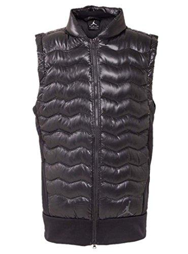 NIKE Air Jordan Men's Warm Down Outerwear Vests 807950-010 (L) by NIKE
