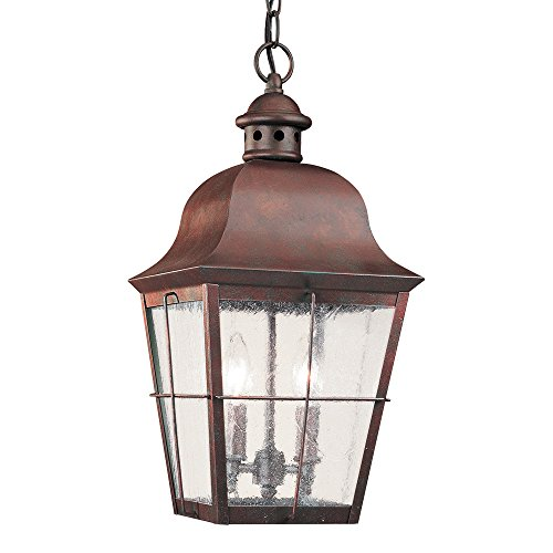 Weathered Copper Pendant Light