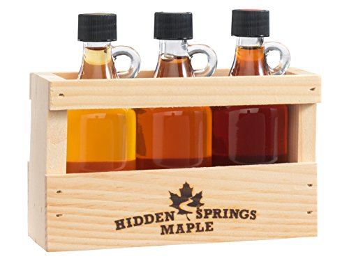 Maple Syrup Deluxe Sampler (3 Pack Sampler) (Deluxe Maple)