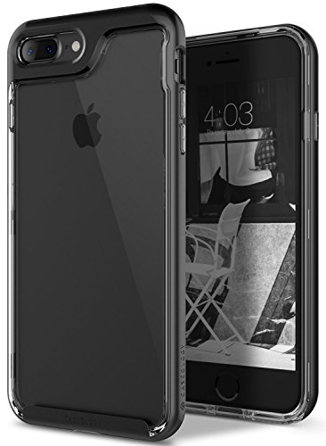 (iPhone 7 Plus Case, Caseology [Skyfall Series] Transparent Clear Slim Scratch Resistant Cover Drop Protection for Apple iPhone 7 Plus (2016) - Gold)