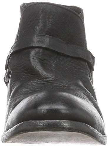 Hudson Londra Hague Herren Biker Boots Schwarz (nero)