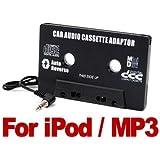 Adaptateur cassette audio voiture à prise jack 3,5 mm pour iPod/Lecteur MP3