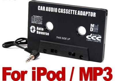 Adaptateur cassette audio voiture à prise jack 3, 5 mm pour iPod/Lecteur MP3 Cablestar