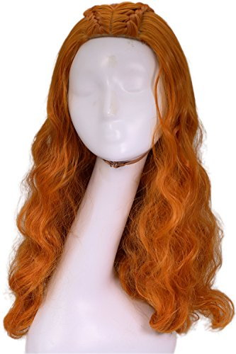 Game Of Thrones Costumes Designer (Sansa Stark Wig Game of Thrones Cosplay Costume Wig Hair Accessories XCOSER)