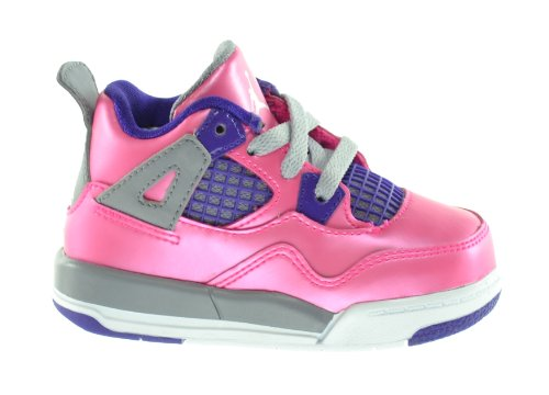 Nike 4 Retro (TD) Baby Toddlers Sneakers Pink/White-Cemen...