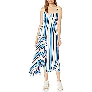 ASTR the label Women's Ellen Sleeveless Hi-lo Hemline Flowy Midi Dress