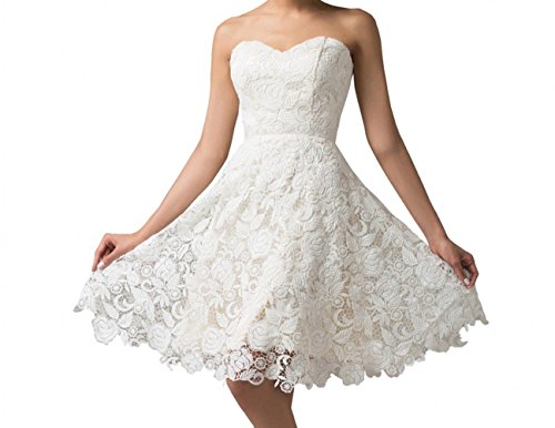 White A-Line Sweetheart Satin - 9