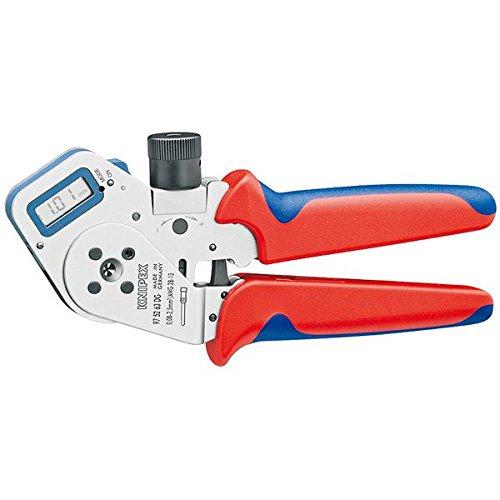 KNIPEX(クニペックス)9752-63DG デジタル圧着ペンチ スポーツ レジャー DIY 工具 ペンチ 圧着ペンチ top1-ds-1850524-ah [簡素パッケージ品] B06ZXR48SM